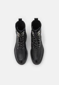 The Kooples - SHOES - Kotníkové boty na platformě - black - 4