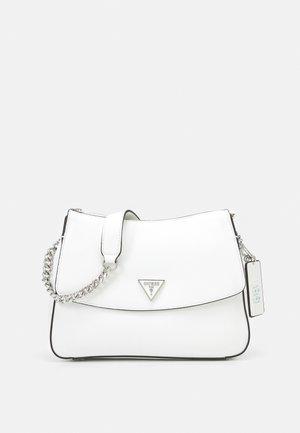 CORDELIA HOBO - Across body bag - white
