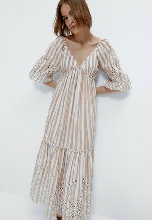 Maxi dress - multi coloured