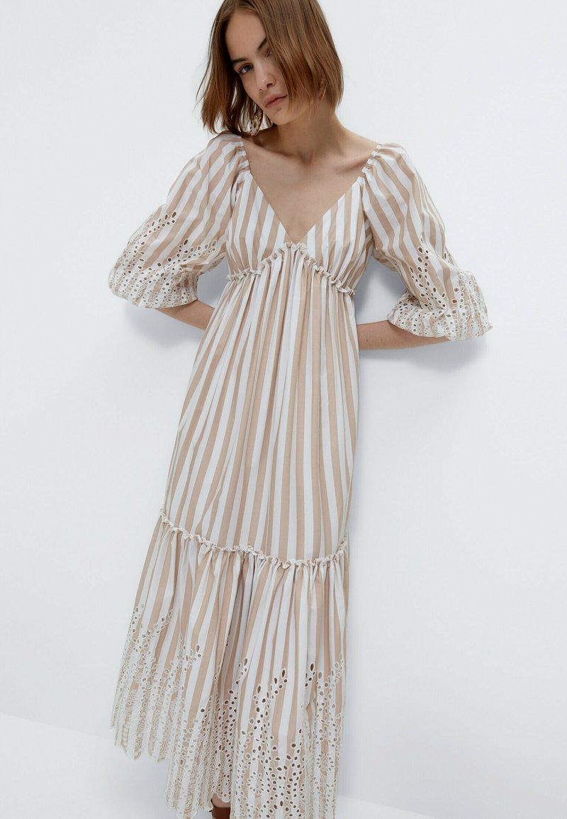 Uterqüe - Maxi dress - multi coloured