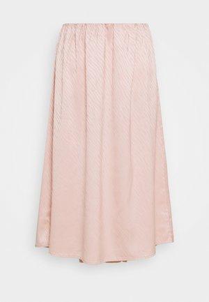 XELA SKIRT - Áčková sukně - misty rose