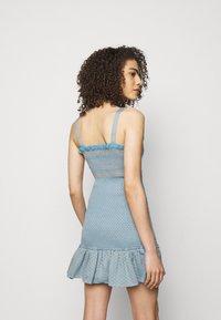 CECILIE copenhagen - JUDITH - Pletené šaty - blue - 2