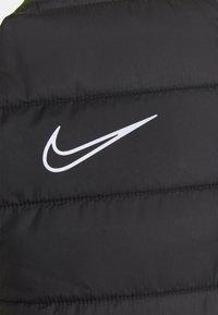 Nike Performance - DRY PAD ACADEMY WINTERIZED - Fleece jumper - black/volt/silver - 2