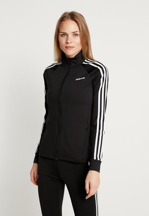 3STRIPES DESIGNED2MOVE SPORT TRACK TOP - Trainingsvest - black/white