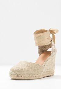 Castañer - CARINA  - High heeled sandals - oro claro - 4