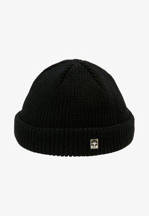 MICRO BEANIE UNISEX - Muts - black