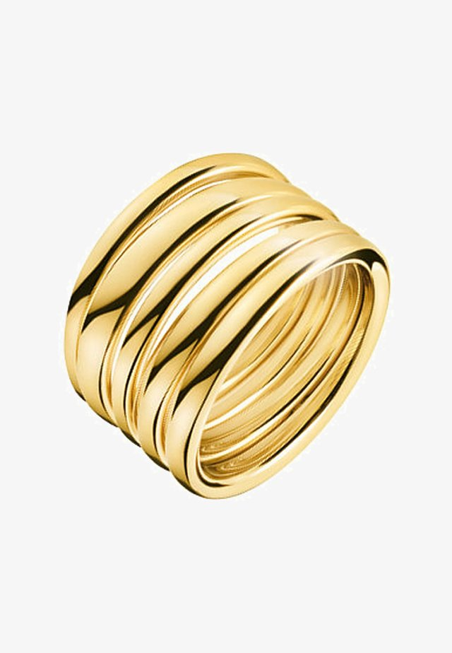 SUMPTUOUS   - Ring - gold-coloured