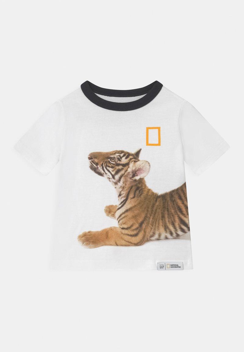 GAP - TODDLER BOY NATIONAL GEOGRAPHIC - T-shirt print - optic white