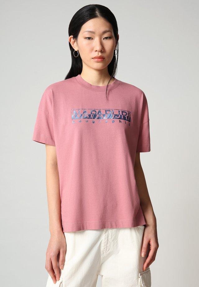 T-shirt con stampa - mesa rose