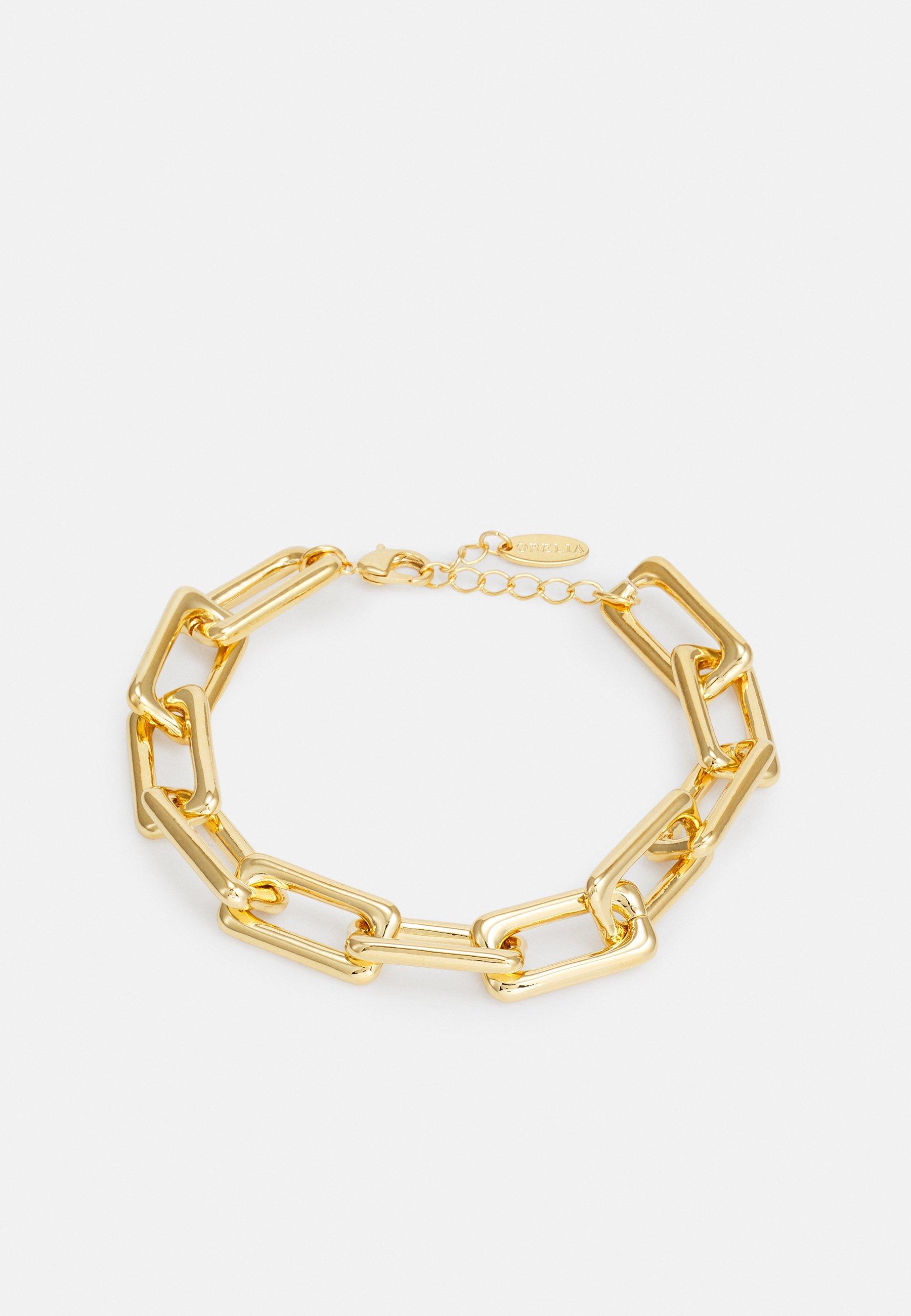 Femme RECTANGULAR LINK CHAIN BRACELET - Bracelet