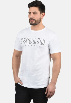 SOLIDO - T-shirt con stampa - white