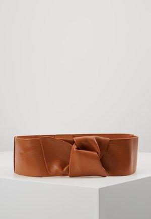 SILLA - Waist belt - camel