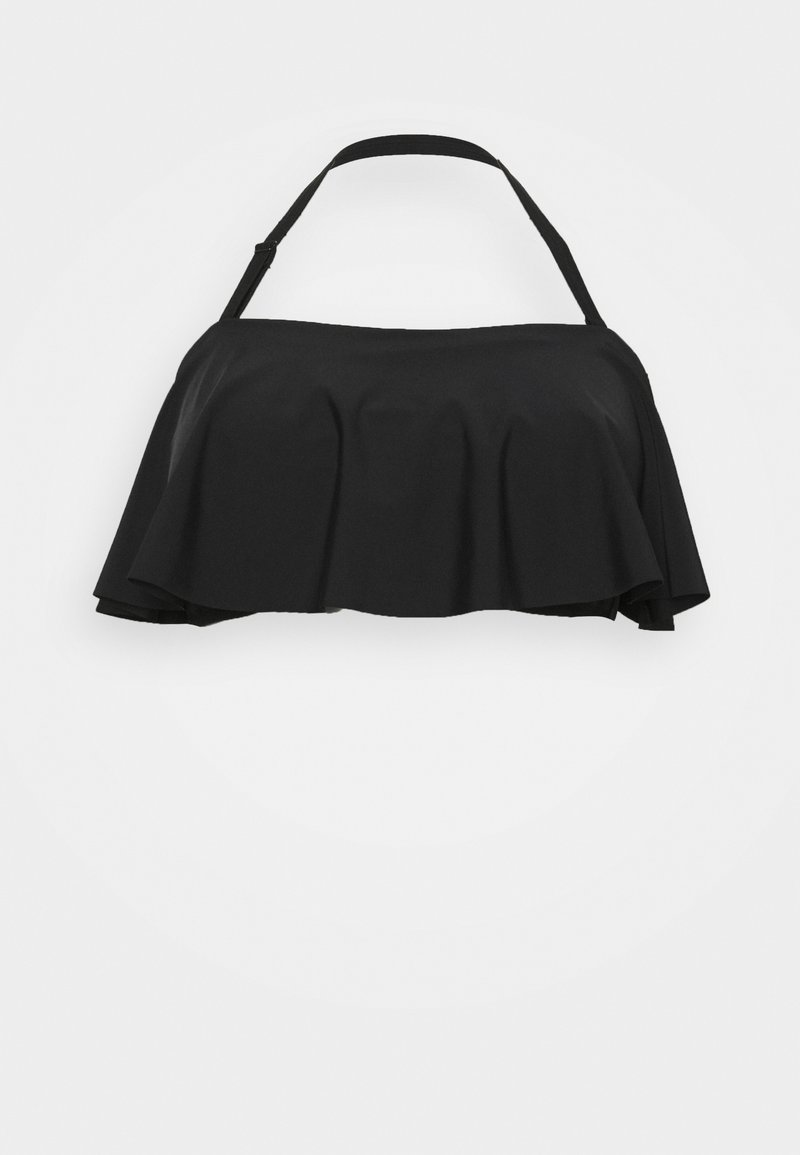 Simply Be - MIX AND MATCH BANDEAU - Top de bikini - black