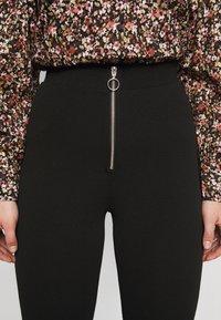 Vero Moda Curve - VMSILCO PANT - Trousers - black - 5