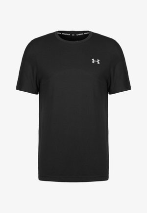 SEAMLESS  - Print T-shirt - black