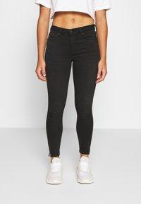 Vero Moda Petite - VMTERESA MR JEANS  - Jeans Skinny Fit - black - 0