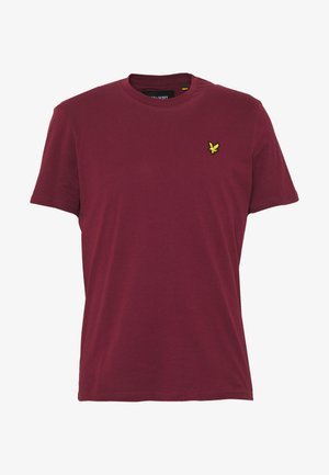 PLAIN - Basic T-shirt - merlot