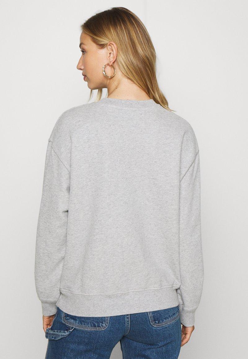 Levi's® STANDARD CREW - Sweatshirt - smokestack heather/hellgrau-meliert c2Hbgc