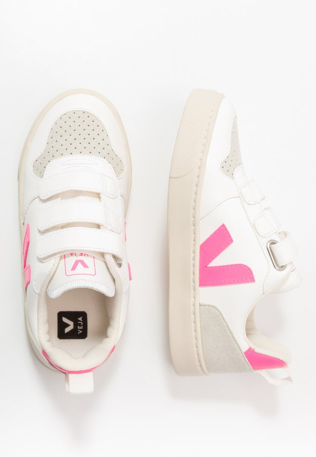 SMALL V-10 - Sneakers laag - white/sari