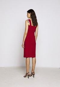 Proenza Schouler White Label - COMPACT TANK DRESS - Pouzdrové šaty - scarlet - 2
