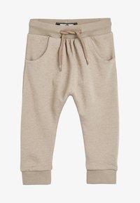 Next - STONE DROP CROTCH - Teplákové kalhoty - beige - 0
