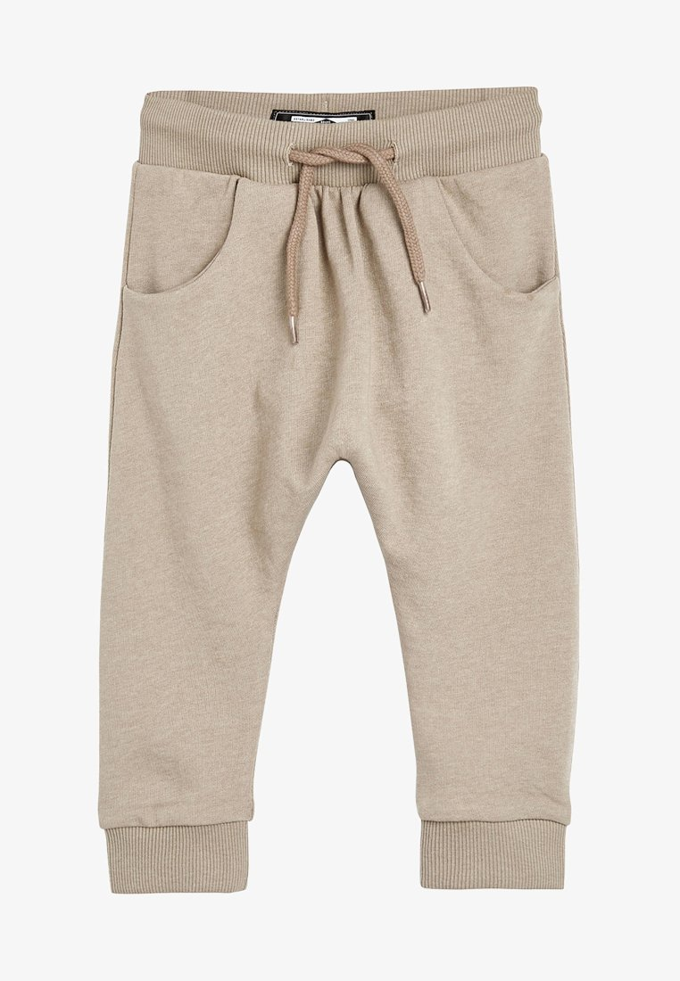 Next - STONE DROP CROTCH - Teplákové kalhoty - beige