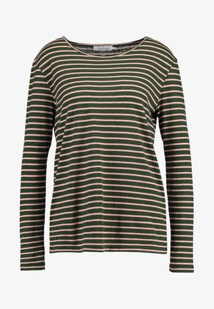 NOBEL STRIPE - Langærmede T-shirts - duffle rose