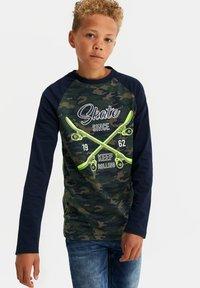 WE Fashion - Long sleeved top - dark green - 1