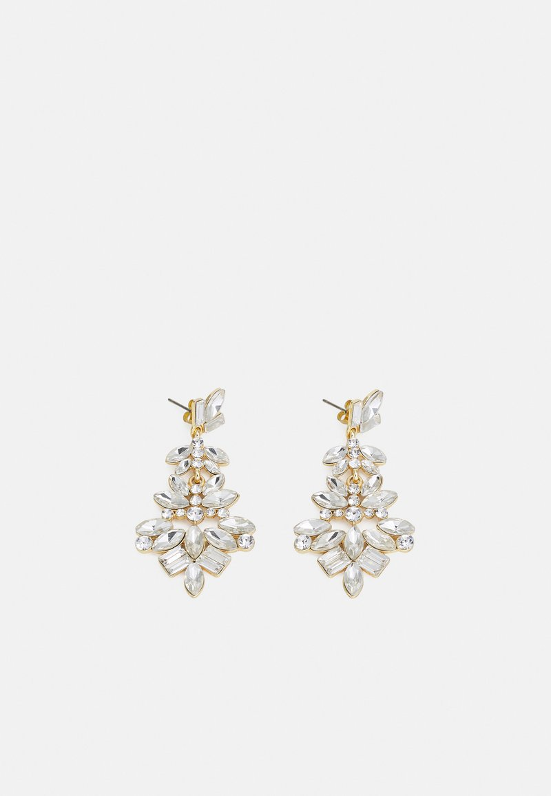 Pieces - PCDEER EARRINGS - Orecchini - gold-coloured/clear