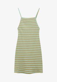 PULL&BEAR - Pletené šaty - green - 4