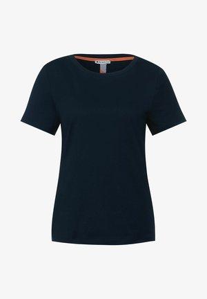 Basic T-shirt - blau