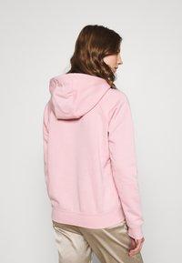 Nike Sportswear - HOODIE - Sweatshirt - pink glaze/white - 2
