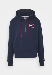 Tommy Jeans - HALF ZIP HOODIE UNISEX - Sweatshirt - twilight navy - 5