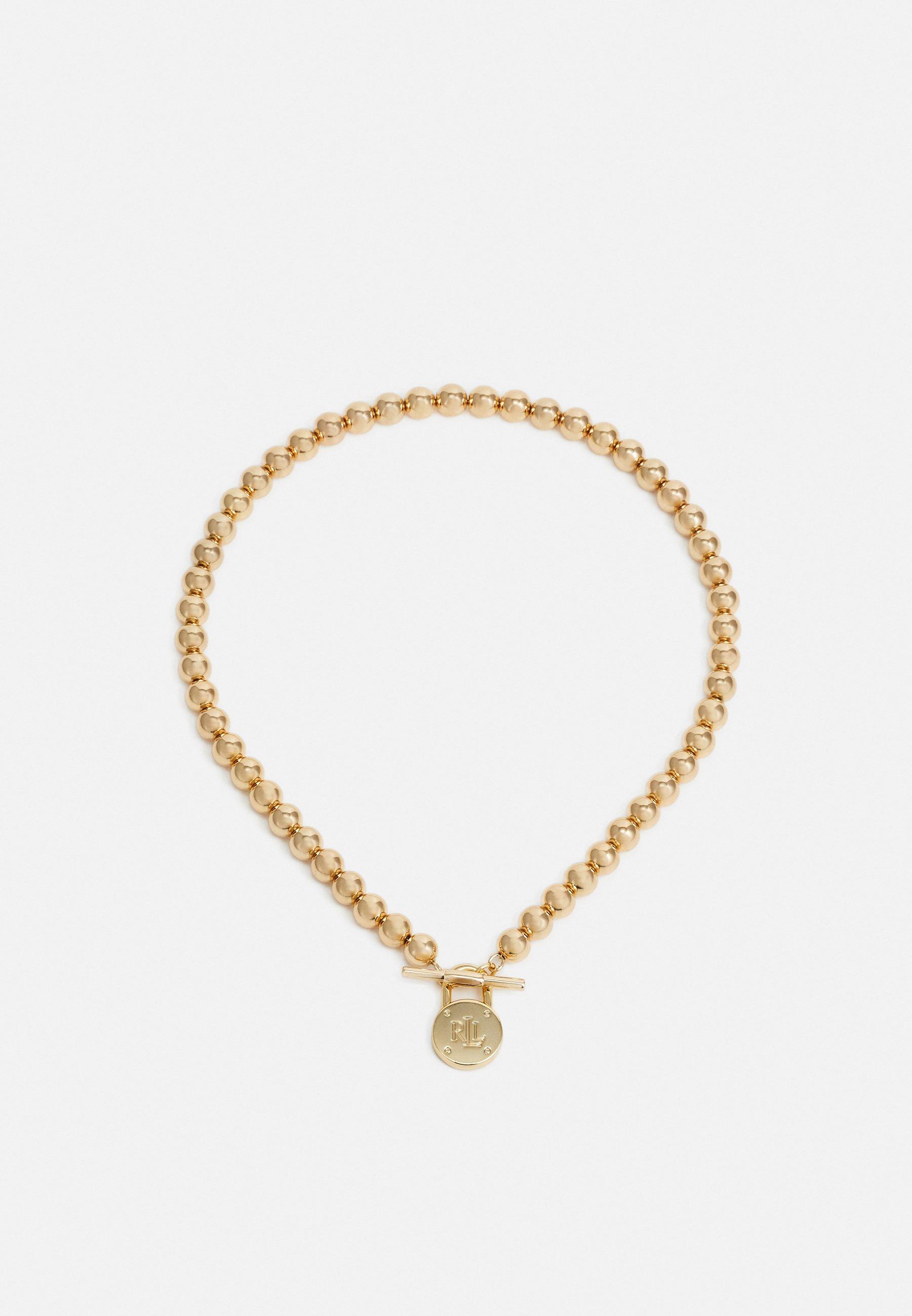 Women BASIC BEADED LOGO - Necklace