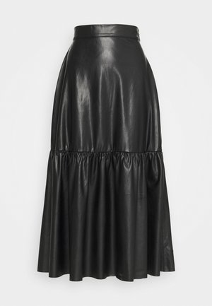 SKIRT ELSA - Maxi skirt - black