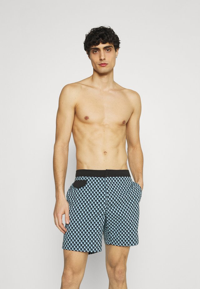 POOL IN SEA WAVE - Zwemshorts - blue black