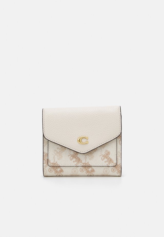 HORSE AND CARRIAGE SMALL WALLET - Portefeuille - chalk taupe
