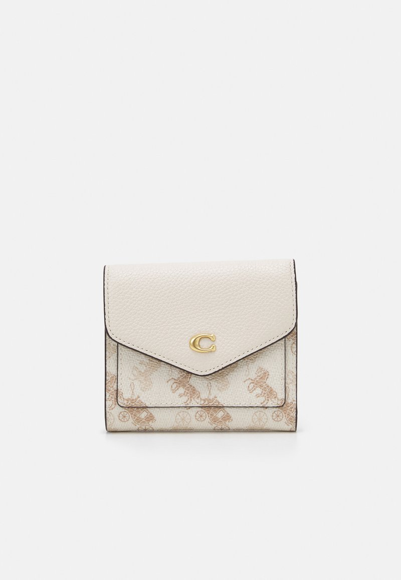 Coach - HORSE AND CARRIAGE SMALL WALLET - Geldbörse - chalk taupe