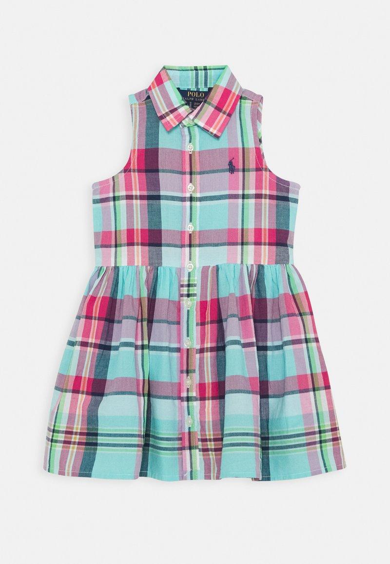 Polo Ralph Lauren - DRESSES - Korte jurk - seafoam
