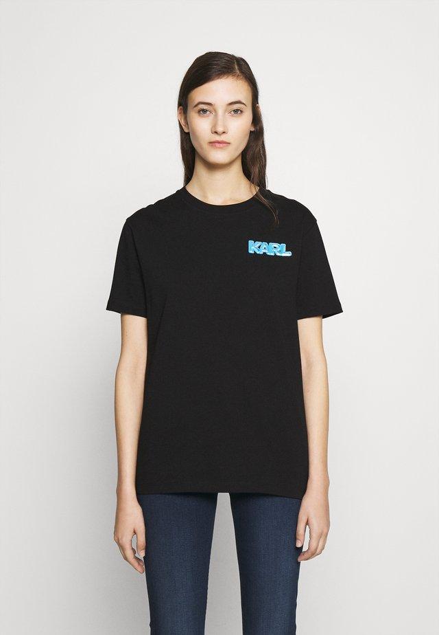 MINI BALLOON LOGO TEE - T-shirt imprimé - black