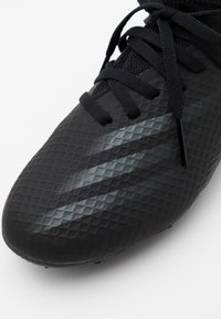 adidas Performance - X GHOSTED.3 FG UNISEX - Moulded stud football boots - core black/grey six - 5