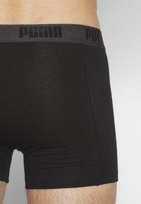 Puma - BASIC 4 PACK - Boxerky - black - 2