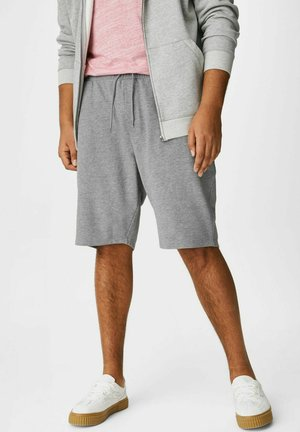Shorts - gray-melange