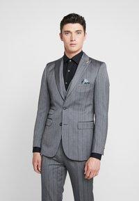 1904 - TENNANT - Suit jacket - gey - 0