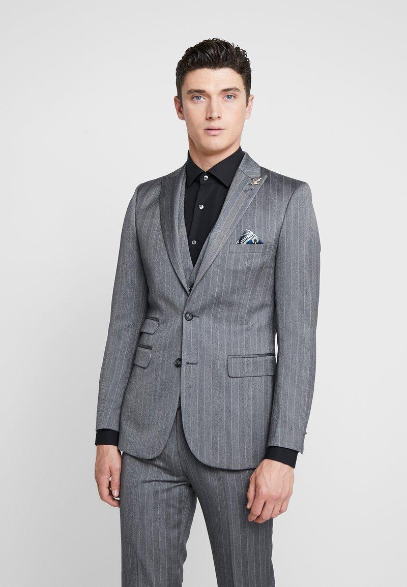 1904 - TENNANT - Suit jacket - gey