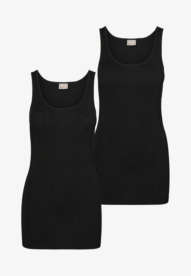 2PACK - Top - black
