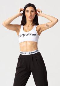 carpatree - SLIM BRA - Reggiseno sportivo - white - 0