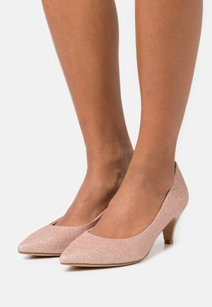 COURT SHOE - Classic heels - rose