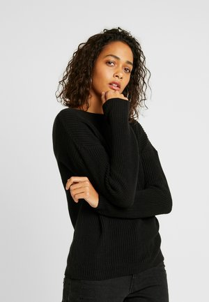 DEEP VNECK  - Jumper - black