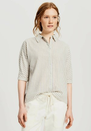 FRONA - Button-down blouse - bleu